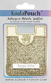 Kappa Delta - Glitter Koala Pouch (Gold)