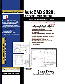 AutoCAD 2020: A Problem-Solving Approach, Basic and Intermediate, 26th Edition