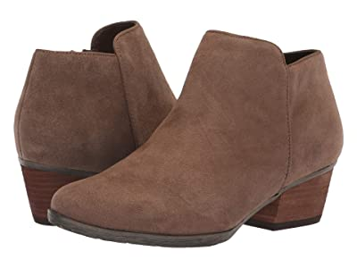 Blondo Villa Waterproof Bootie (Dark Taupe Suede) Women