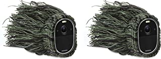 Wasserstein Outdoor Ghillie Skin Compatible with Arlo Essential Spotlight - Conceal and Protect Your Arlo Essential Spotli...