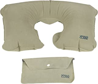 Lewis N. Clark Original Neckrest Inflatable Pillow, Waterproof Neck Pillow for Neck Support at the Beach, Pool + Airport T...