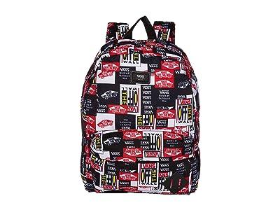 Vans Old Skool III Backpack (Labelmix) Backpack Bags