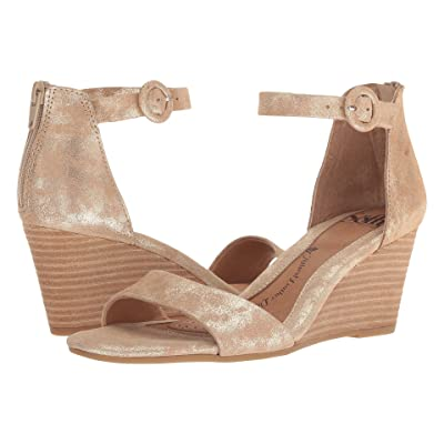 Sofft Marla (Platino Distressed Foil Suede) Women