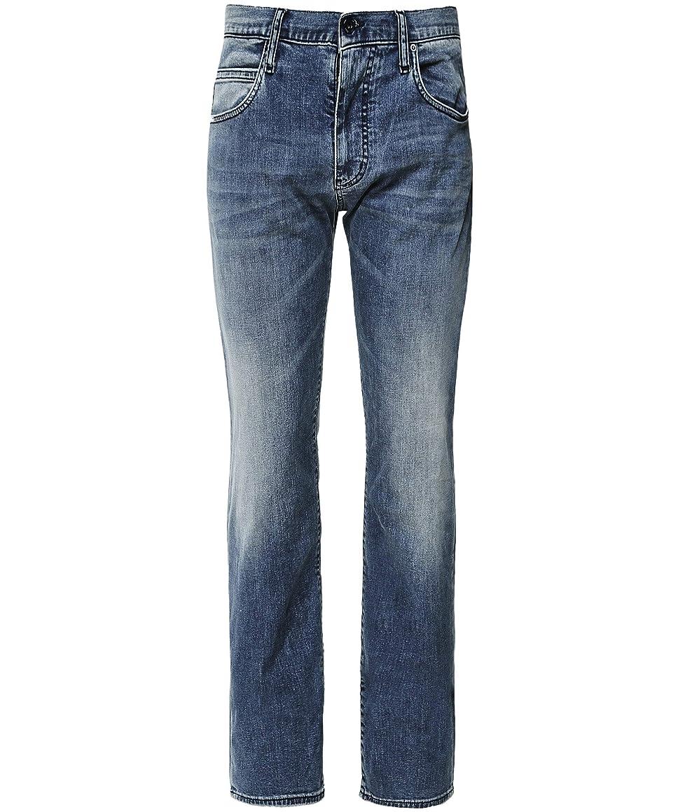 Armani Men's J45 Regular Fit Jeans Denim Blue