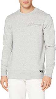 Scotch & Soda Signature-Sweatshirt aus Baumwolle Maglia di Tuta Uomo