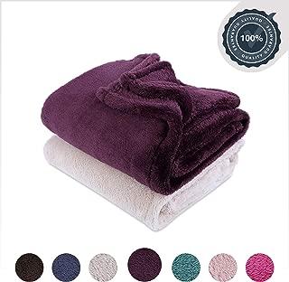 Berkshire Blanket Extra-Fluffy Super Soft Warm Cozy Luxury Blanket Throw