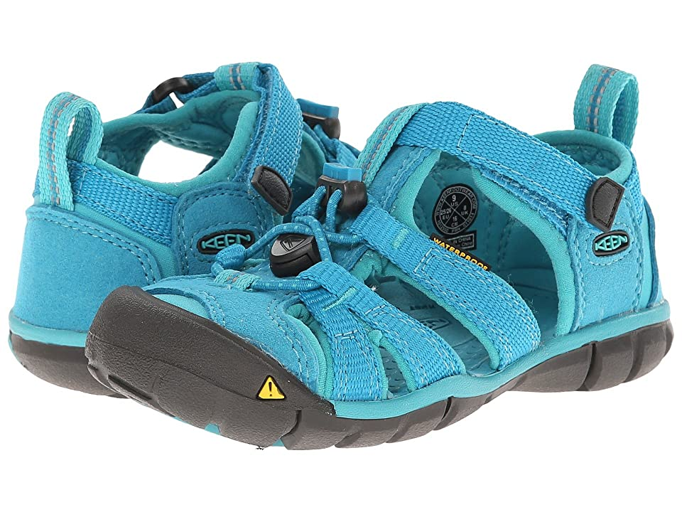 Keen Kids Seacamp II (Toddler/Little Kid) (Baltic/Caribbean Sea) Girls Shoes