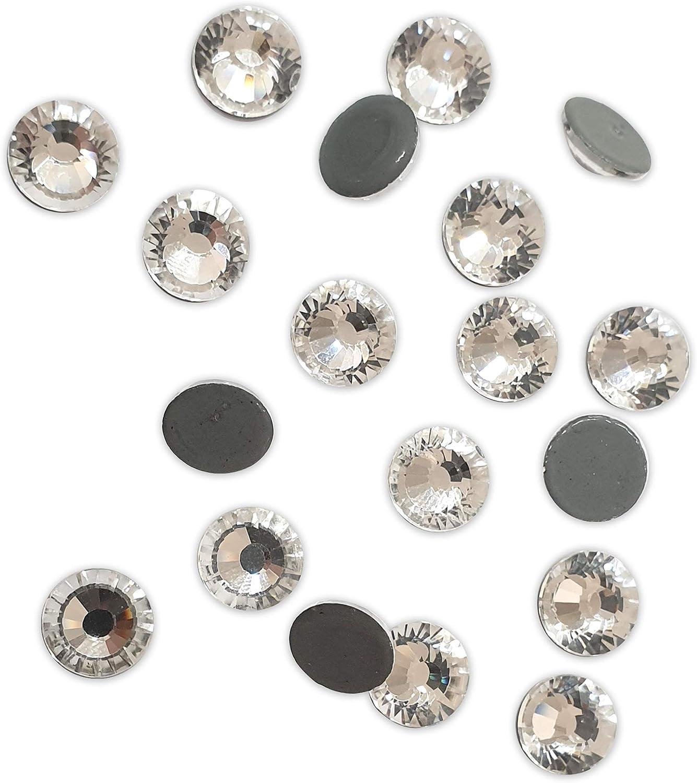 strass SS 06 1440PZ Crystal Ab Crystal paillettes sup/érieur /à DmC Panini Tessuti Strass thermocollants Hotfix qualit/é MC Crystal Aurora Bor/éale de SS 06 /à 40 pour tissus et d/écorations
