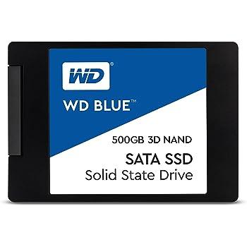 【国内正規代理店扱い】WD 内蔵SSD 2.5インチ / 500GB / WD Blue 3D / SATA3.0 / 5年保証 / WDS500G2B0A