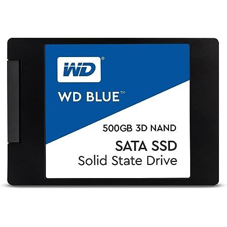 WD 内蔵SSD 2.5インチ / 500GB / WD Blue 3D / SATA3.0 / WDS500G2B0A