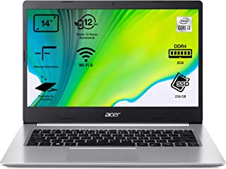 "Acer Aspire 5 A514-53 - Portátil 14"" HD (Intel Core i3-1005G1, 8GB RAM, 256GB SSD, UMA Graphics, Sin Sistema Operativo), C..."