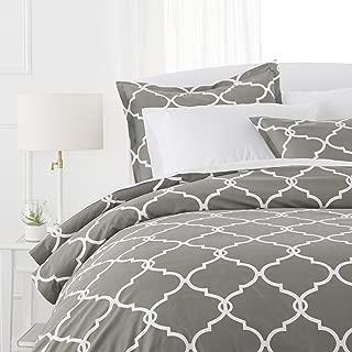 Best white patterned duvet cover Reviews