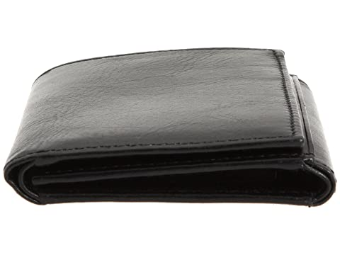 cuero Collection negro de Old Leather Bosca tríptico Monedero An4YOY8