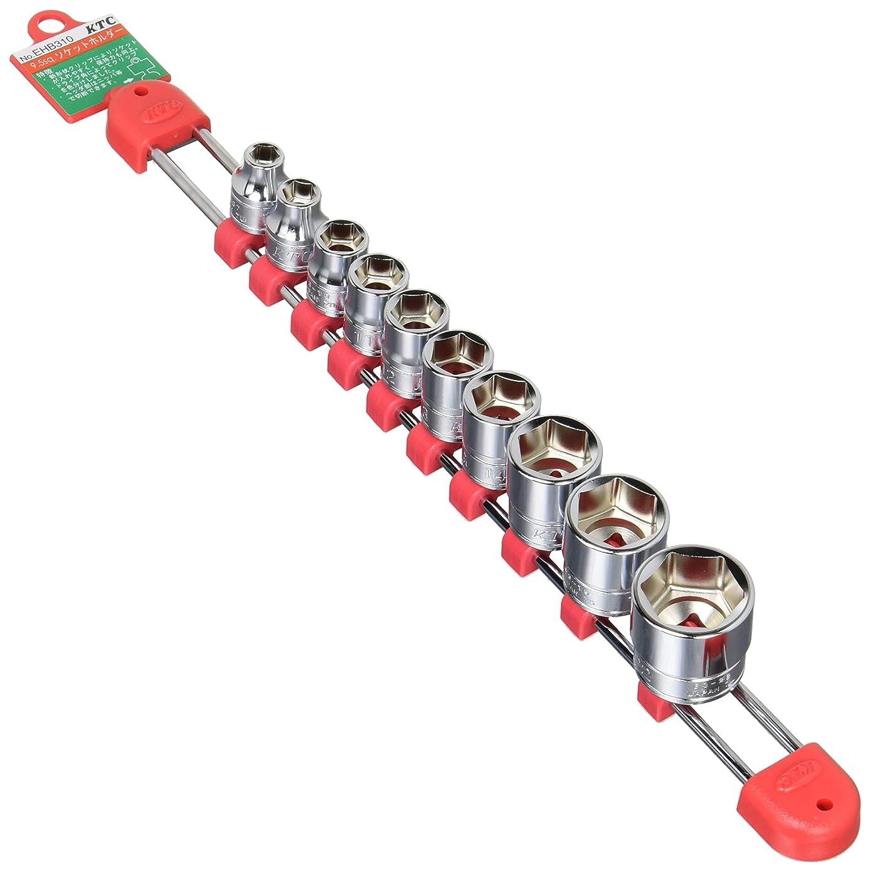 京都機械工具(KTC) ソケットセット TB310 差込角:9.5mm 10個組 1セット