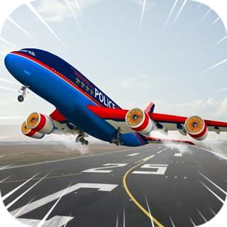 Plano de la ciudad 3D: Avión Piloto de Flight Simulator