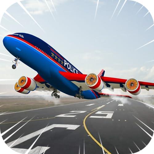 Stadt Flugzeug 3D: Flugzeug-Pilot Flight Simulator