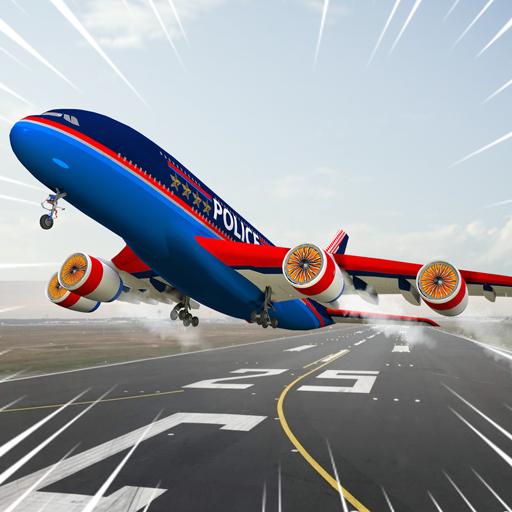 Città piano 3D: Aeroplano Pilota Flight Simulator