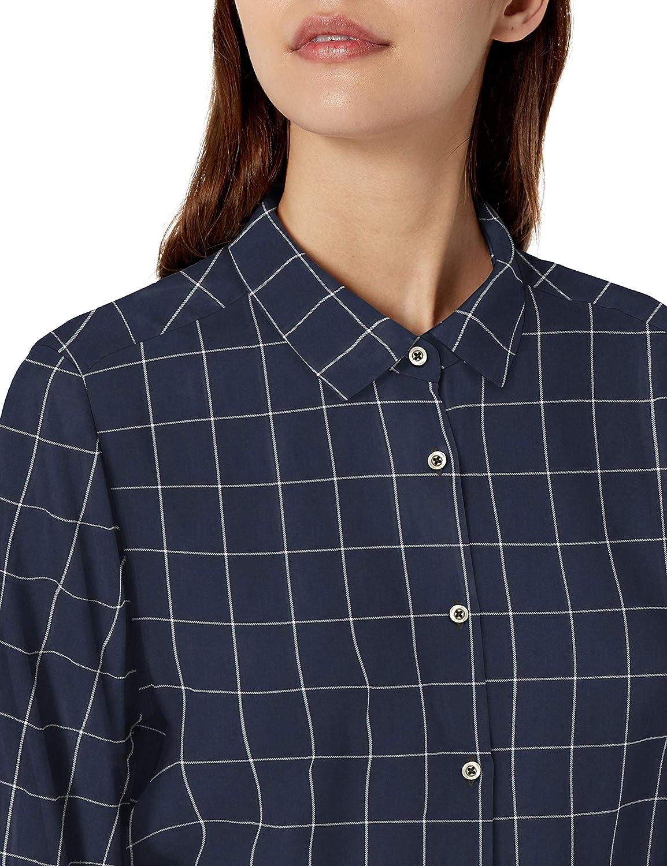 Goodthreads Womens Modal Twill Tie-Front Shirt Brand