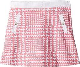 Houndstooth Skirt (Toddler/Little Kids/Big Kids)