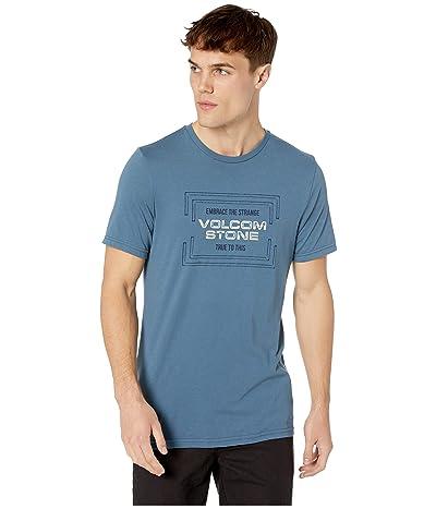 Volcom Stone Embrace Short Sleeve T-Shirt (Indigo) Men