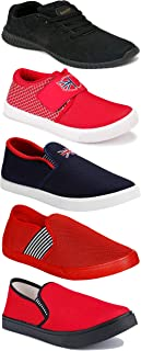 Shoefly Sports Running Shoes/Casual/Sneakers/Loafers Shoes for Men&Boys (Combo-(5)-1219-1221-1140-466-782)