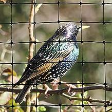 Bird-X Standard Bird Netting Ideal for Gardens and Lightweight Applications, 100' by 14'