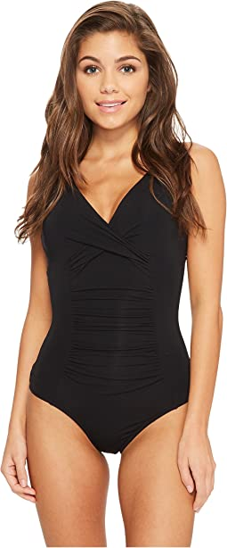 Jetset E/F-Cup Underwire One-Piece Swimsuit