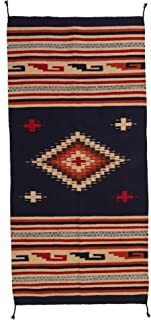 El Paso Designs Hand Woven Southwest Style Accent Rug, 20