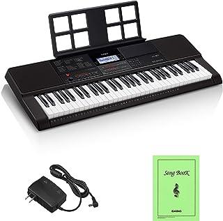 カシオ(CASIO)電子キーボード Casiotone CT-X700 61鍵盤 クオリティの高いAiX音源 強弱表現可能なタッチレスポンス 600音色 195リズム 自動伴奏機能 ブラック