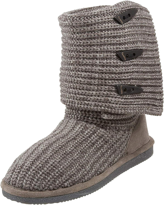 BEARPAW セール開催中最短即日発送 Women's OUTLET SALE Knit Tall Boot