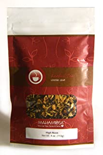 Sponsored Ad - Mahamosa High Noon Tea 4 oz, Herbal Herb Tea Blend (with lemon peel, orange peel, hibiscus, rose hips, mari...