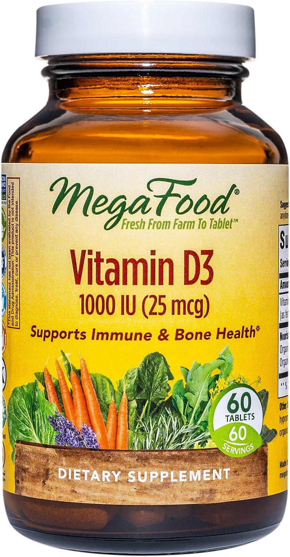 MegaFood Vitamin D3 1000 IU Immune Support Vi Health Japan Maker New and Long Beach Mall Bone