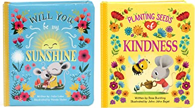 2 Pack Padded Board Books: Planting Seeds of Kindness & Will You Be My Sunshine Board Books (Love You Always)