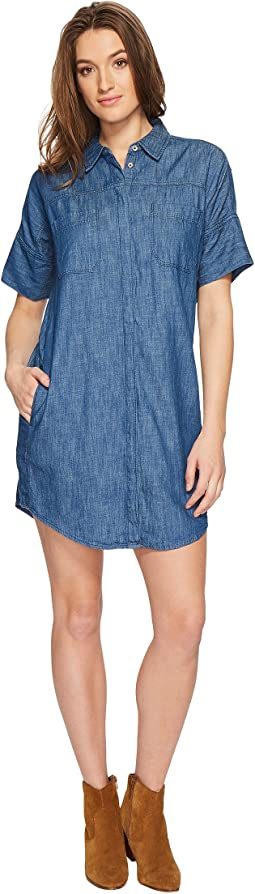 Blank NYC - Short Sleeve Shirtdress in Fatal Attraction