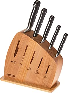 Tramontina Century Premium - Juego completo de cuchillos de cocina de acero inoxidable remachado de 5 piezas fabricado en Brasil