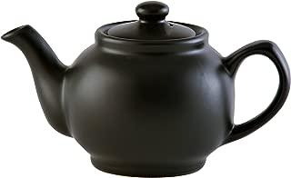 Price & Kensington Matt Black 2 Cup Teapot