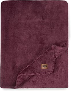 UGG Whitecap Plush Flannel - Oversized Throw Blanket, Sassafras