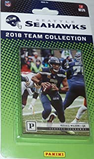 Seattle Seahawks 2018 Panini Factory Sealed NFL Football Complete Mint 9  Card Team Set with Russell 484e62740