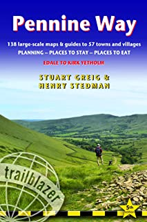 Pennine Way: Edale to Kirk Yetholm - GPS Waypoints (Trailblazer British Walking Guides)