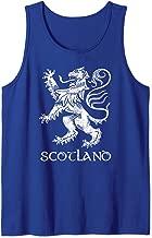 Scotland Shirt Rugby Scottish Pride Lion Rampant Crest Gift Tank Top