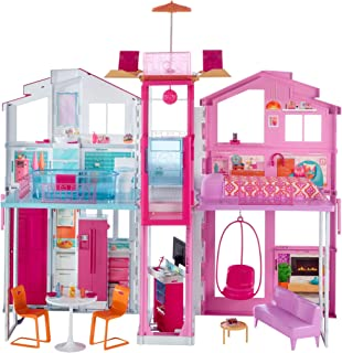 Barbie Malibu Townhouse, Multi-Colour