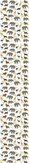JP لندن ustrip Lite uclt11012للصق جداري tinga البري الأفريقي سفاري حيوانات Pop ظلال ، 8.5-feet من 1.5-feet