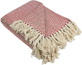 DII Rustic Farmhouse Throw Blanket with Decorative Tassles, Use For Chair, Couch, Bed, Picnic, Camping, Beach, & Just Stay...