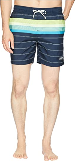 Original Penguin Engineered Stripe Elastic Trunk