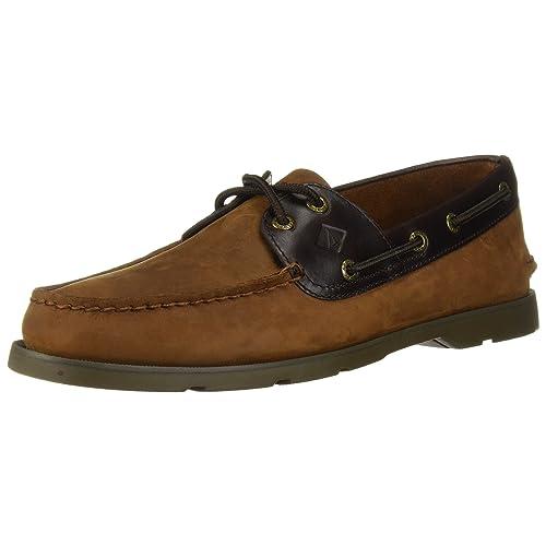 db10a23b4fc Sperry Men s Leeward 2-Eye Boat Shoe