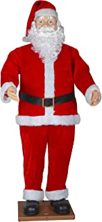 Best 5 foot animated singing santa Reviews