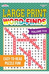 Large Print Word-Finds Puzzle Book-Word Search Volume 319 Perfect Paperback