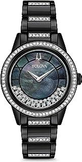 Bulova - Reloj Analógico para Mujer de Cuarzo con Correa en Acero Inoxidable 98L252
