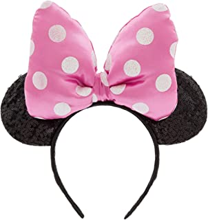 Disney Minnie Mouse Ear Headband for Kids - Pink Pink