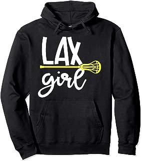 LAX GIRL FUN LACROSSE PULLOVER HOODIE